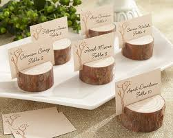 fall wedding place card holders. rustic real-wood place card/photo holder (set of 4) fall wedding card holders o