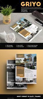 Griyo Realestate Flyer Print Templates Flyers Corporate