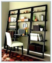 leaning desk bookcase ladder desk ladder bookcase desk a leaning ladder bookshelf with desk in the