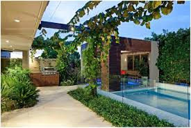 Cool Backyard Backyards Impressive Contemporary Backyard Designs Backyard