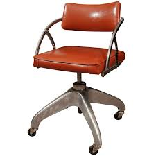 industrial age furniture. machine age steel and vinyl industrial office chair 1 furniture s
