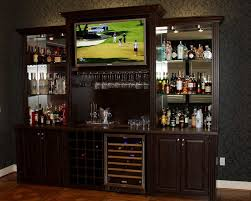 refreshment center home bar traditional with custom media centers ...
