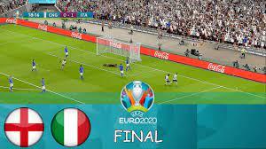 ENGLAND vs ITALY - Final EURO 2020 ...