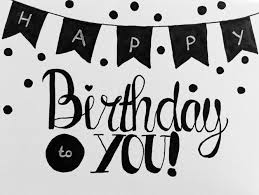 happy birthday design handlettering happy birthday font astic pinterest happy