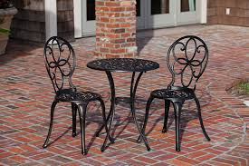 metal bistro set. Amazon.com: Patio Sense 3-Piece Antique Bronze Cast Aluminum Bistro Set: Garden \u0026 Outdoor Metal Set