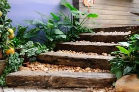 create a recycled wood path for your