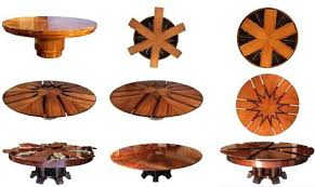 round expanding table the capstan table expanding round table gif