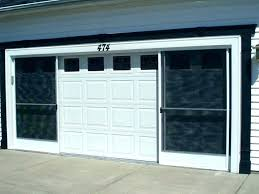 double garage door screen garage screen doors garage screen door um size of garage screen doors