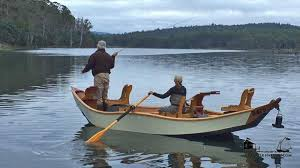 a drift boat for fly fishing recurve style when drifting down the river of life why not do it in style and do some fishing along the way