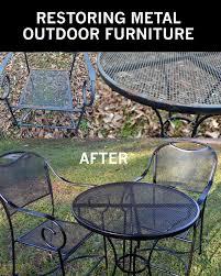 painting metal patio furniture best 25 painting metal furniture ideas on paint metal free