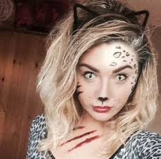 cat face makeup for