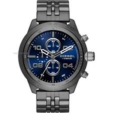 "oversized watches large oversize watches watch shop comâ""¢ mens diesel padlock chronograph watch dz4442"