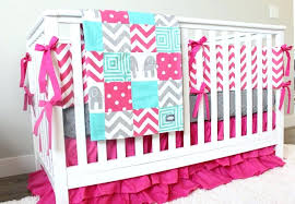 baby elephant crib bedding for girls nursery boy sets