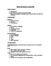 How To Do A Resume How To Make Resume Free As How To Create A Resume