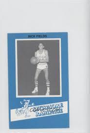 1982-83 7-Up Indiana State University Sycamore Rampage Police - [Base]  #RIFI - Rick Fields