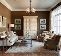 Traditional Living Room Paint Colors Paint Colors For Living Room With Brown Leather Furniture Living