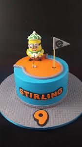 Mini Golf Minion Cakecentralcom