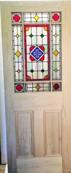 stained glass interior vestibule door oak veneer in doors plans architecture stained glass doors