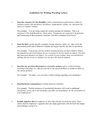 11 Employee Warning Letter Examples Pdf Google Docs Ms