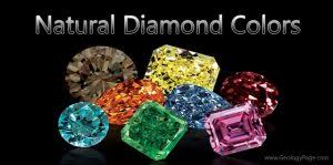 Natural Diamond Colors Geology Page