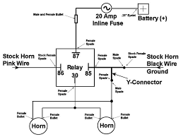 car horn wiring diagram for dc car wiring diagrams online alfa showing > horn relay diagram