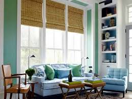 The natural look is Wall color mint green gives your living room a magical  flair