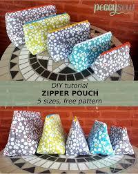 Zipper Pouch Pattern Free
