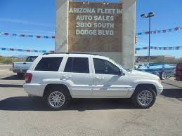 2004 jeep grand cherokee for at arizona fleet im in tucson az