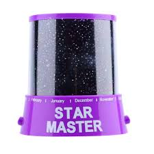 Star Master Night Light Pink Romantic Amazing Cosmos Moon Colorful Master Star Sky