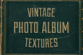 Vintage Photo Albums Vintage Photo Album Cover Textures Design Cuts