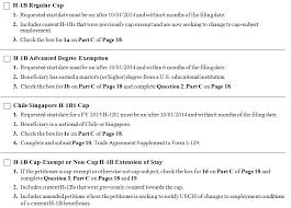 H-1B 2015 - Form I-129 Checklist |