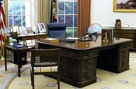 oval office desks. Oval Office Desk By Chair . Desks