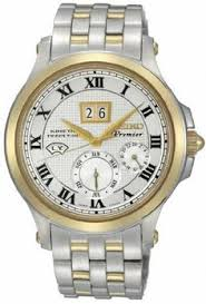jared movado® men s watch luno™ sport 606378 bullet mens watch seiko snp042 premier premier kinetic perpetual two tone stainless ste