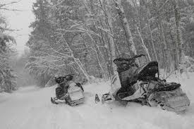 thinking about snowmobile trail riding