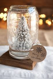 Glass Jar Table Decorations Mason Jar Christmas Decorating Ideas Clean And Scentsible 26
