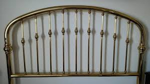 brass headboard queen. Brass Headboard Full Antique Elegant Queen Bright . Bedroom Headboards B