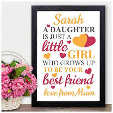 personalised gifts for daughter little her she s from mum mummy birthday