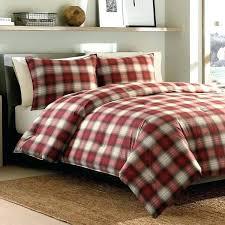 red plaid bedding navigation 3 piece cotton comforter set and green tartan baby comfor