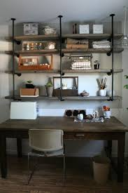 wall shelves for office. At Home With Sylvie Liv. Rustic ShelvesWood ShelvesOffice Wall Shelves For Office