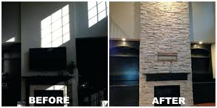 cost to paint brick house full size of update brick fireplace refacing fireplace with stone veneer how to update a cost to paint two story brick house