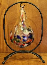 Blown Glass Ball Display Stand Blown Glass Ball Display Stands 2