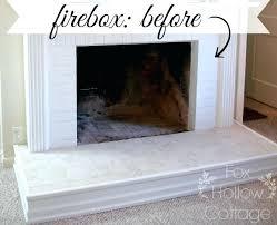 fireplace spray paint fireplace firebox before fireplace fireplace spray paint uk