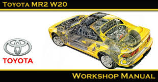 toyota mr2 mk1 sw20 sw21 mk2 workshop repair manual cd toyota mr2 w20 workshop manual