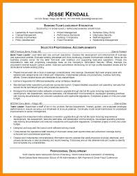 Sample Resume For Team Lead Position Resume For Team Leader In Bpo Resume For Team Leader Sample Resume