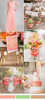 Coral Color Combinations Best 20 Salmon Bridesmaid Dresses Ideas On Pinterest Grape