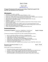 Basic Computer Skills List It Resume Cover Letter Sample