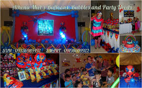 alxacky s 1st birthday party spider man themed at homitori function hall