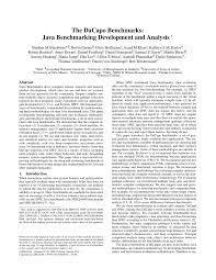 PDF) The DaCapo Benchmarks: Java ...