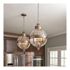 adams victorian pendant globe light chandelier 3 bulb