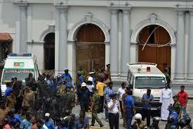 Image result for Easter Sunday bomb attacks kill more than 200 at Sri Lankan churches